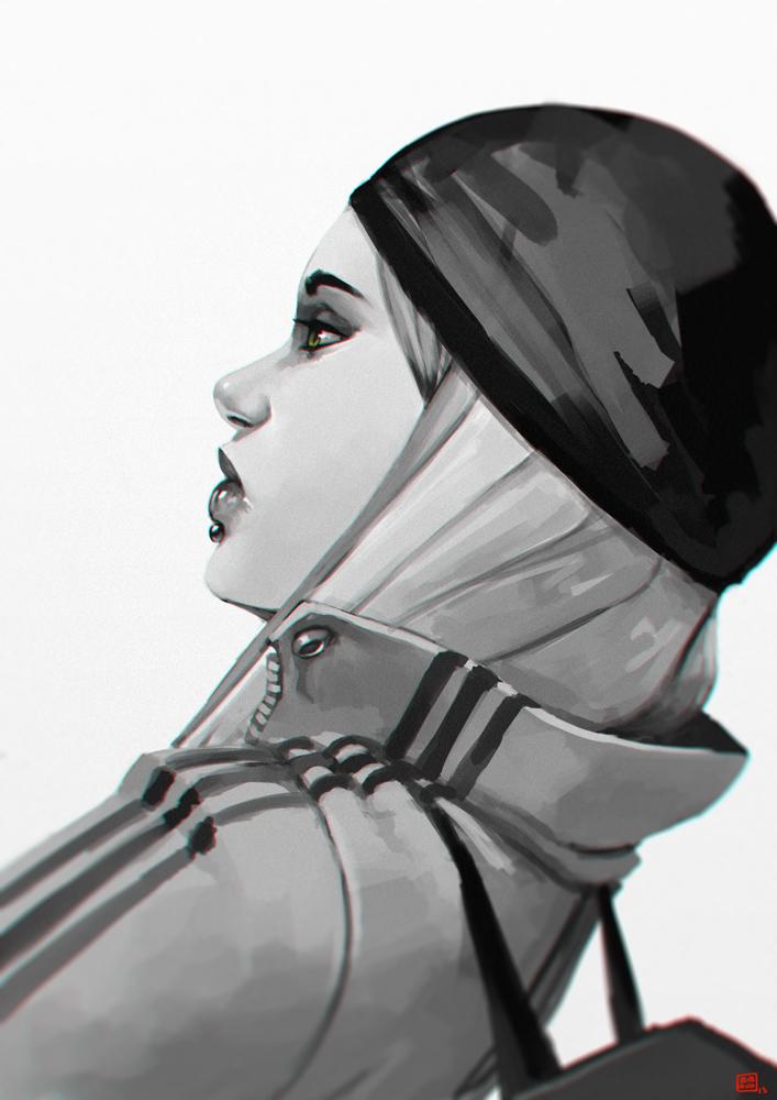 Street girl_biboun